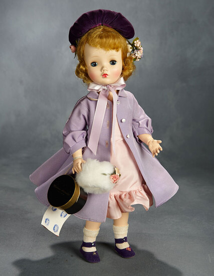 """Sweet Violet"" in Lilac Costume with Accessories, 1954 800/1000"