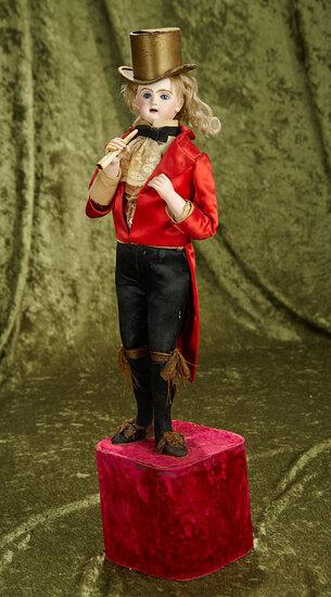 """22"""" French musical automaton """"Gentleman Dandy Smoker"""" by Lambert. $5000/6000"""