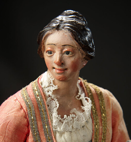 Neapolitan Lady with Smiling Expression 1800/2200