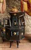Early Tinplate Stove with Flat-Iron Warmers 400/600