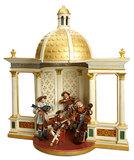 Wooden Orchestral Gazebo with Rich Gilt Ornamentation 1100/1500
