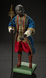 Neapolitan Black Prince in Jeweled Costume with Gold-Tipped Spear 2400/2800