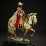 Neapolitan Balthazar, King of Arabia, in Splendid Robes, on Horseback 10,000/12,000