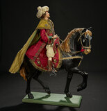 Neapolitan Melchior, King of Persia, in Royal Robes on Horse 9000/12,000