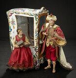 Outstanding Neapolitan as Ottoman Sultan in Luxury Costume 1500/1700
