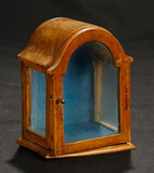 Early Fruitwood Arched Cabinet  300/500