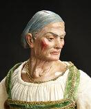 Neapolitan Elderly Lady with Modeled Cap 1800/2500