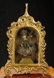 Continental Gilt Wooden Cabinet with Wax Child 1200/1500