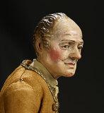 Neapolitan Gentleman Burgher with Fine Costume 1500/1700