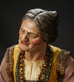 Neapolitan Elderly Woman with Exceptional Sculpting 1400/1800