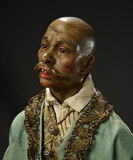 Neapolitan Aged Persian Man with Imperial Moustache 1700/2100