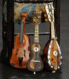 Three Miniature Musical Instruments 400/500