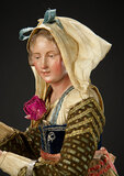 Neapolitan Lady with Gentle Expression 1200/1600
