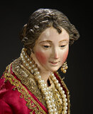 Neapolitan Princess with Pearls and Gilt Embroidered Costume 2200/2800