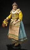 Neapolitan Smiling Lady with Basket of Lemons 1200/1500
