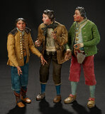 Neapolitan Handsome Villager with Unusual Boots 1200/1500
