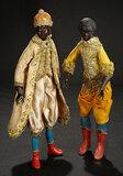 Neapolitan Moorish Prince with Elaborate Costume and Cap 1200/1400