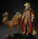 Neapolitan Dromedary with Elaborate Blanket and Fittings 1200/1500