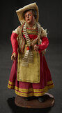 Rare Petite Size Neapolitan Lady in Original Cervera Folklore Costume 1200/1500