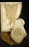 Antique Textiles with Gilt Metallic Thread Embroidery 400/500