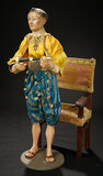 Neapolitan Prince with Wooden Flute 1800/2200