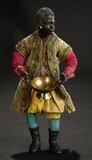 Neapolitan Moorish Pageboy with Brass Bowl 1100/1300