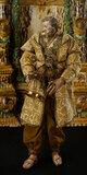 Neapolitan Bearded Man with Gilt Brass Bird Cage 1200/1600