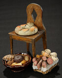 Neapolitan Foodstuffs in Baskets and Bowls 300/400