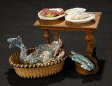 Neapolitan Foodstuffs including Rare Fish 300/400