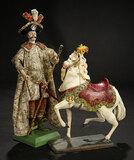 Neapolitan Court Figure in Original Cavalier Costume 1200/1500