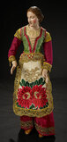 Neapolitan Woman with Gentle Smile and Original Folklore Costume 1100/1500