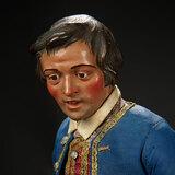 Neapolitan Gentleman Aristocrat in Silk Costume 2200/2800