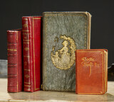 Four Miniature Books in Faust by Goethe 300/400