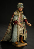 Neapolitan Caspar in Original Royal Robes 1200/1700