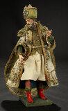 Neapolitan Balthazar in Original Royal Robes 1200/1700