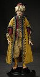 Neapolitan Portrait of Balthazar in Lavish Original Costume 1800/2200