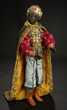Neapolitan Portrait of Melchior in Royal Robes 1700/2300