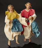 Two Neapolitan Angels in Rare Petite Size 700/900