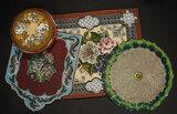 Collection of Decorative Beadwork Panels 400/600