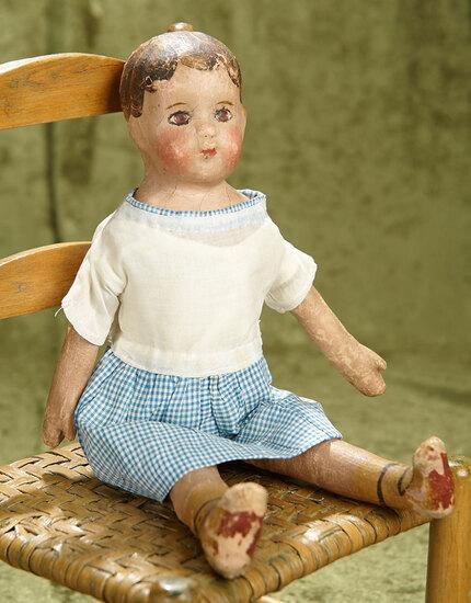 "13"" Oil painted cloth ""Alabama Baby"" by Ella Smith"
