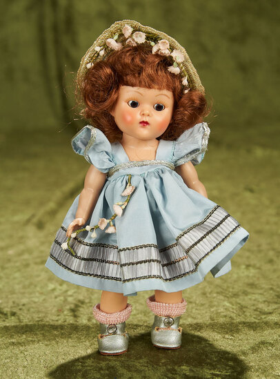 """8"""" Painted Lash Ginny as """"Cheryl"""" from Tiny Miss Series. $400/500"""
