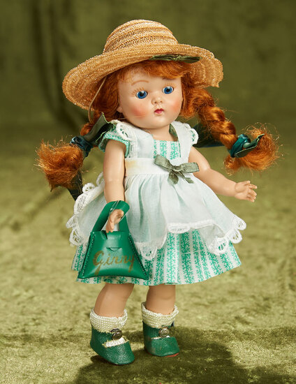 """8"""" Painted lash Ginny as """"Lucy"""" from Tiny Miss Series. $300/400"""