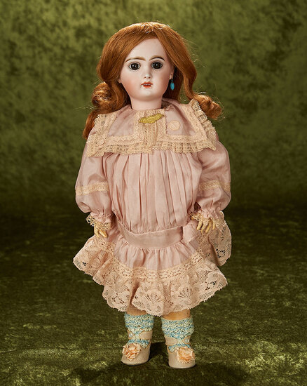 """16"""" French bisque bebe Jumeau with original French body"""