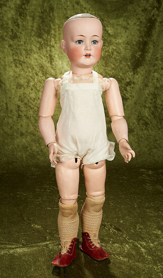 """30"""" German bisque child by Cuno and Otto Dressel, rare to find"""