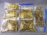 Seller's note states new and used brass for 7 mm 08, 7 mm Mag and .270.