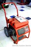 Generac by Briggs & Stratton Wheelhouse 5500 rated watts portable generator, 8500 surge watts. Turns
