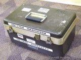 Heavy duty storage case. Approx. 17