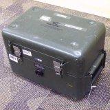 Heavy duty metal storage case. Approx. 14