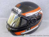 Bieffe snowmobile helmet, size large. Has duct tape by chin area. Otherwise in good shape.