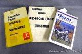 1981-1992 Yamaha service, repair and maintenance manual; Yamaha Snowmobile PZ480/E service manual;